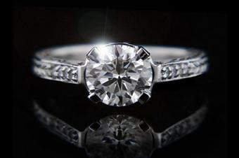 Ella Lab-Created Diamond Ring