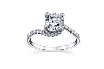 Modern Designer Engagement Rings