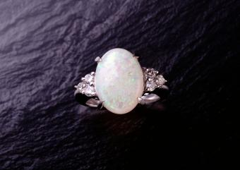 Are Opal Wedding Rings Bad Luck?