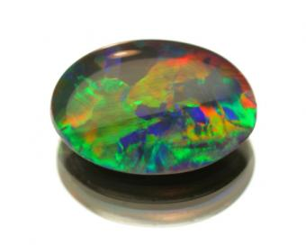 colored opal