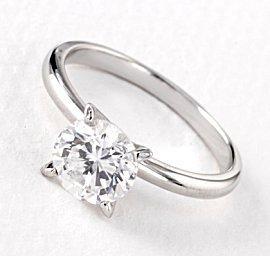 Classic diamond solitarie