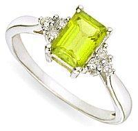 Peridot Engagement Rings
