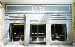 Photo of the Tiffany boutique in Las Vegas