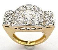 Retro Cartier Diamond Ring