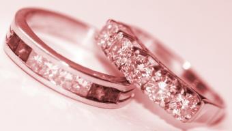 1920s Replica Wedding Rings