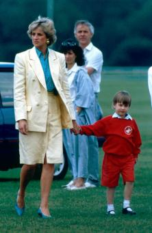 Princess Diana and Prince William
