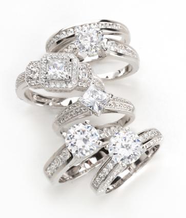 big platinum engagement rings lovetoknow