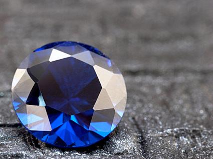 how to tell a fake blue diamond