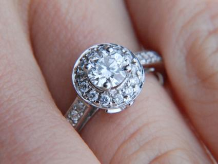 1e0f94d3d Halo Style Engagement Rings | LoveToKnow