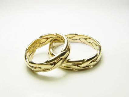 gold celtic rings - Scottish Wedding Rings