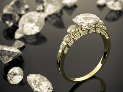 Loose diamonds and ring