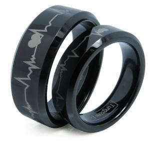 Tungsten Forever Love Rings at Amazon.com