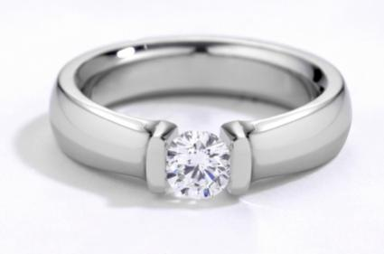 sweeping brilliant ring diamond stone rings and sapphire custom bands earth engagement three