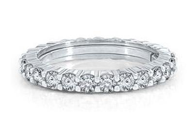 Memoire Diamond Eternity Band from Helzberg Diamonds