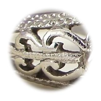 filigree ring close up