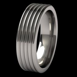 Titanium Stratus ring