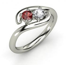 Double Embrace Ring from Gemvara