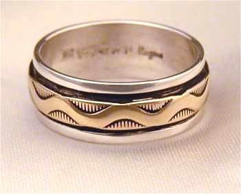 Hopi Indian Wedding Rings