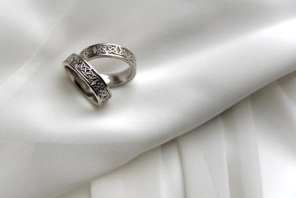 celtic dragon wedding ring
