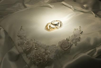 horseshoe wedding rings