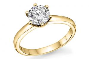 Half Carat Diamond Solitaire