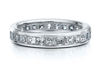 Channel Set by Eternity Wedding Bands