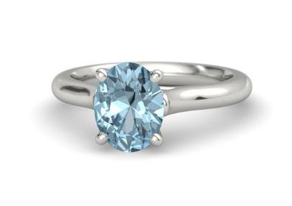 Ivy aquamarine ring from Gemvara