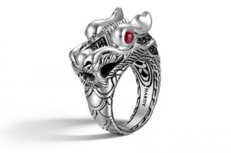 Naga Dragon Head Ring