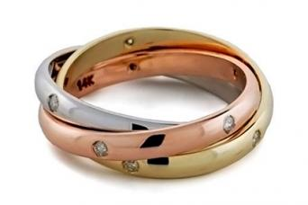 3 Band Russian Wedding Ring Meaning