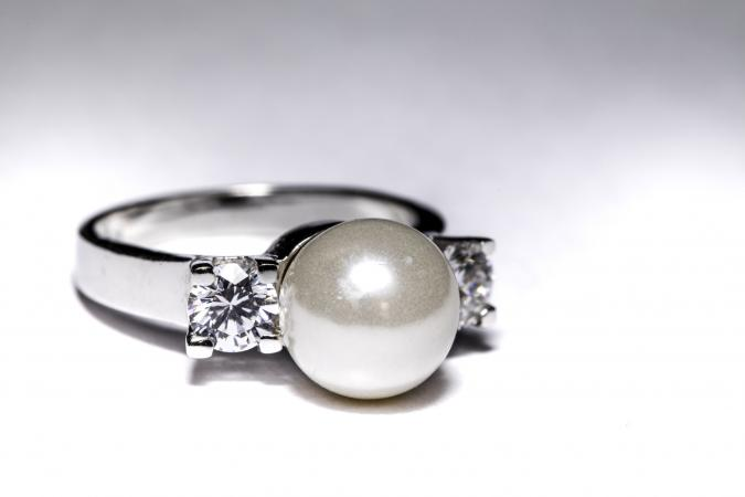 detail ring silver jewellery rings designs product engagement pearl buy