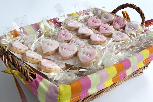 Cookie Wedding Favours