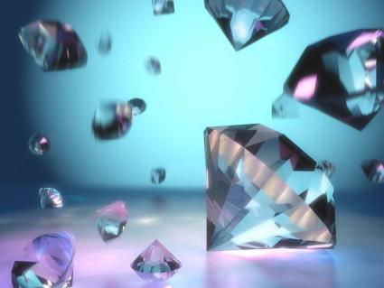 Lots of loose diamonds
