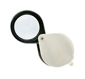Photo of a simple jeweler's loupe