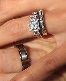 when to remove wedding rings - How To Wear Wedding Rings