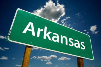 Image of an Arkansas state highway sign