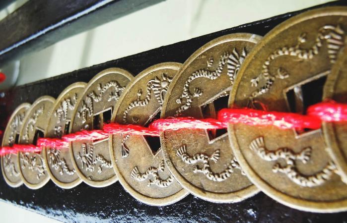 Monedas de Feng Shui