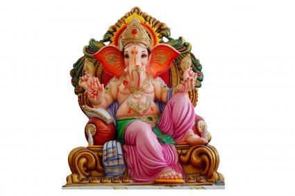 dios hindú ganesha ídolo