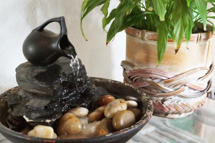 Fuente de agua zen