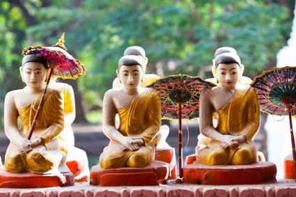 Buda del hogar feliz