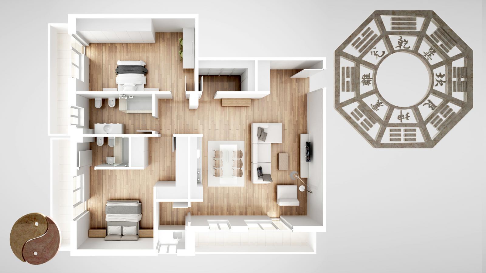 Construir una casa según el feng shui