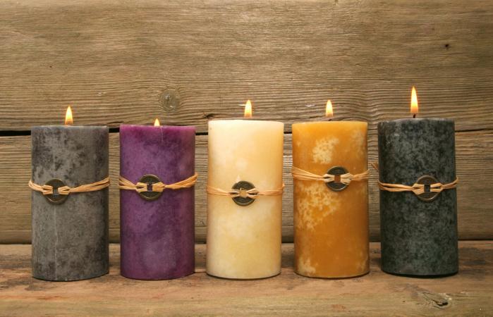 Cinco velas de Feng Shui