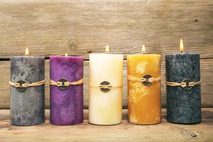 Cinco velas Feng Shui