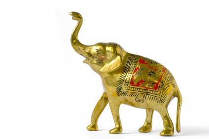 Estatueta de un elefante