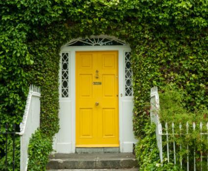 puerta de entrada irlandesa