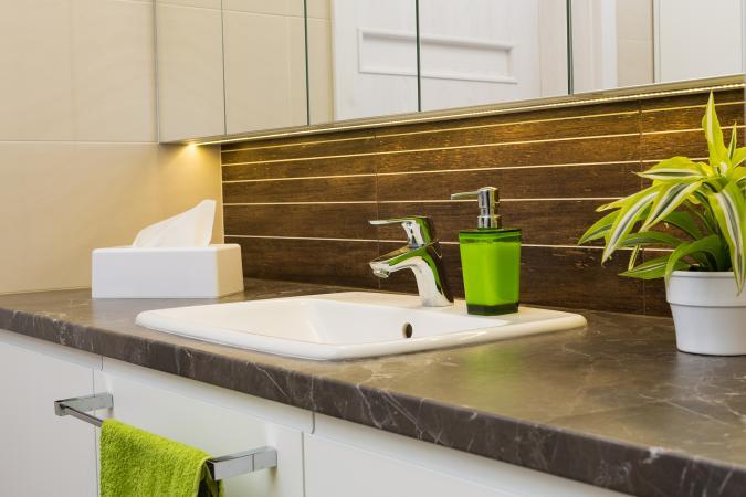 baño interior moderno