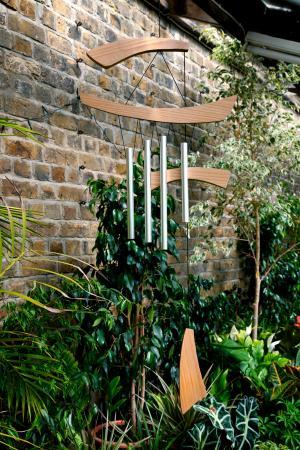 carillones de madera y metal