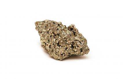 Piedra de pirita de hierro