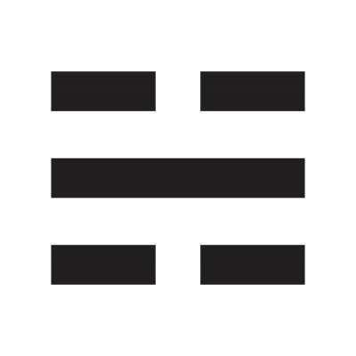 Trigrama Kan - Agua
