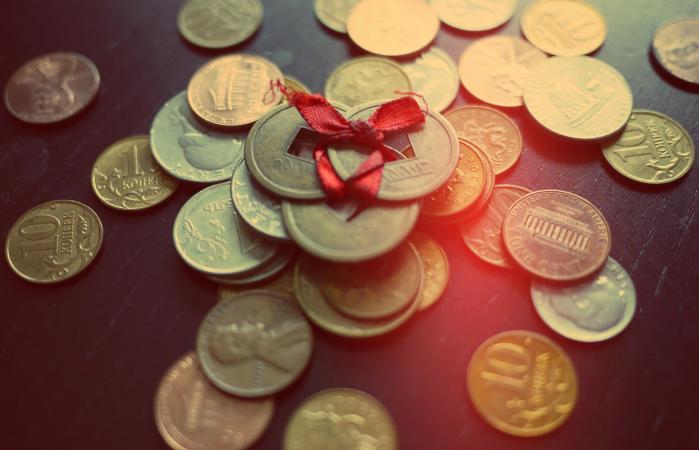 Dinero del feng shui