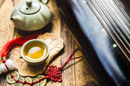 Bodegón del elemento madera feng shui